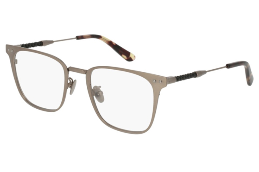 Bottega Veneta BV0108O Eyeglasses in 003 Silver