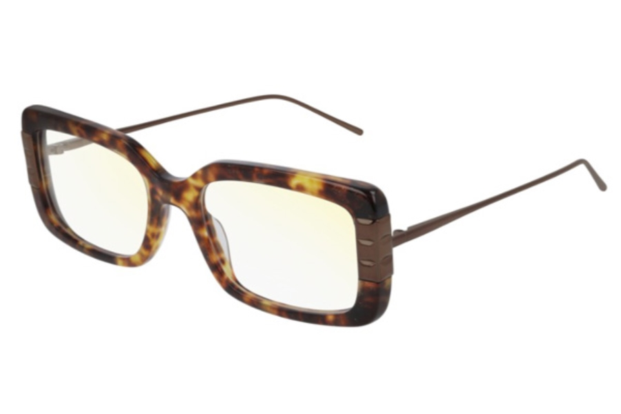 Boucheron Paris BC0074O Eyeglasses in 002 Havana