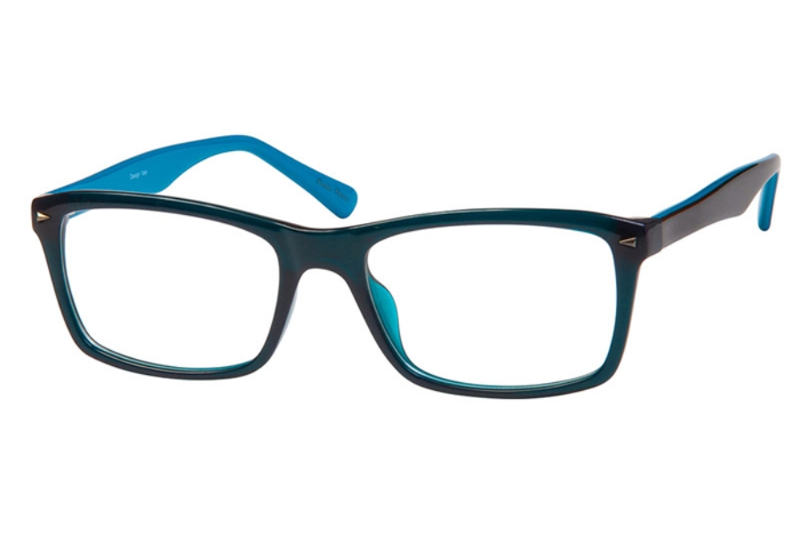 Brilliance Brilliance 3116 Eyeglasses in Olive/Blue