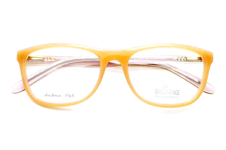 Brilliance Brilliance 3131 Eyeglasses in Peach