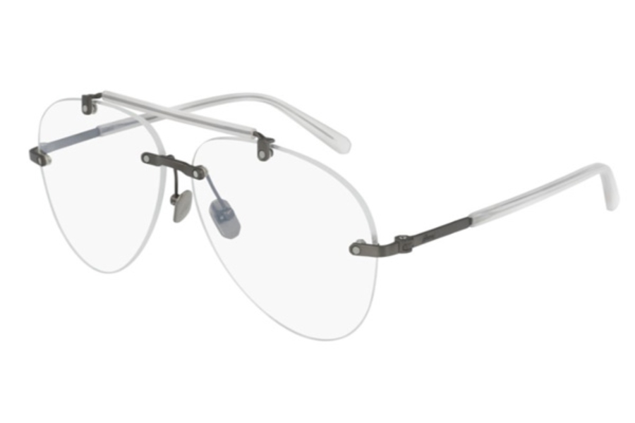 Brioni BR0061O Eyeglasses in 004 Transparent / White (Discontinued)