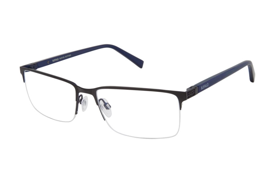 Buffalo David Bitton BM509 Eyeglasses in BLK Black