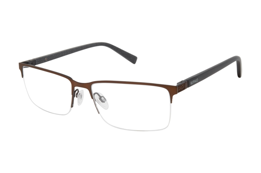 Buffalo David Bitton BM509 Eyeglasses in BRN Brown