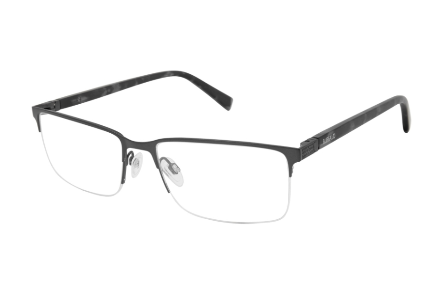 Buffalo David Bitton BM509 Eyeglasses in DGN Dark Gunmetal