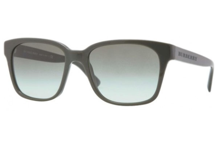 2057d869d4ab ... Burberry BE4140 Sunglasses in 33738E Green green gradient ...