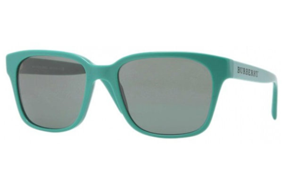 3a0654f6bf18 ... gradient  Burberry BE4140 Sunglasses in 338971 Green Grey Green ...