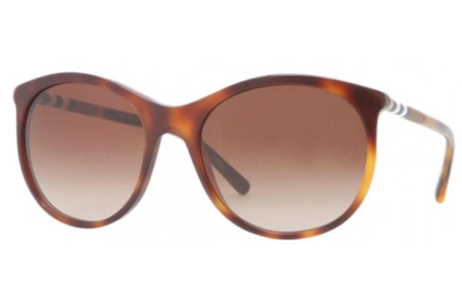 6424ea626bcf ... Burberry BE4145 Sunglasses in 331613 Havana brown gradient  Burberry  BE4145 Sunglasses in 33928E Dark Green ...