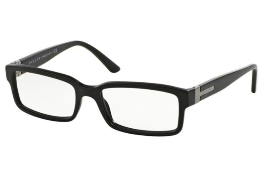 Bvlgari BV 3014 Eyeglasses in 732 Matte Black