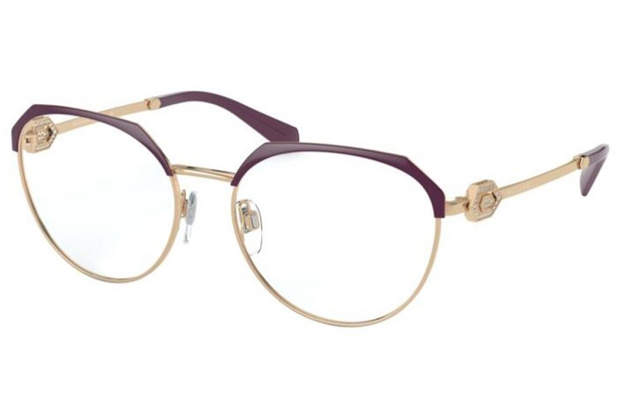 Bvlgari BV 2214B Eyeglasses in 2035 Plum/Pink Gold