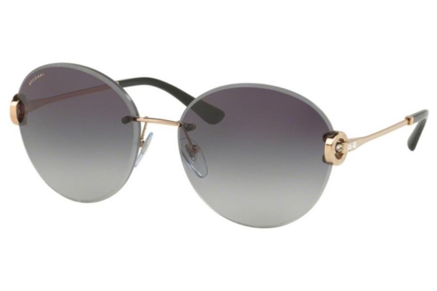 aabaf41d534 ... Bvlgari BV 6091B Sunglasses in Bvlgari BV 6091B Sunglasses  Bvlgari BV  6091B Sunglasses in 20148G Pink Gold   Grey Gradient ...