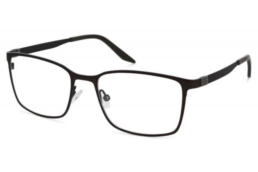 Project One Cabral Eyeglasses in 05 Olive black