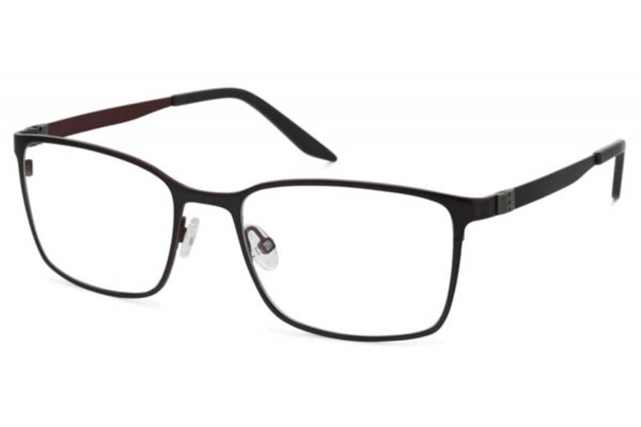 Project One Cabral Eyeglasses in 7 Gun Red