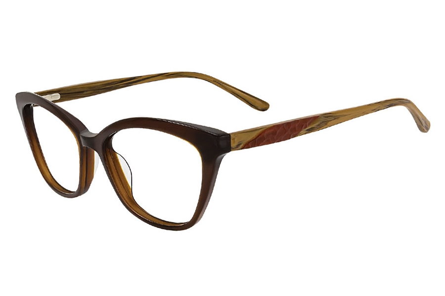 Cafe Lunettes Cafe 3285 Eyeglasses in C-1 Maple