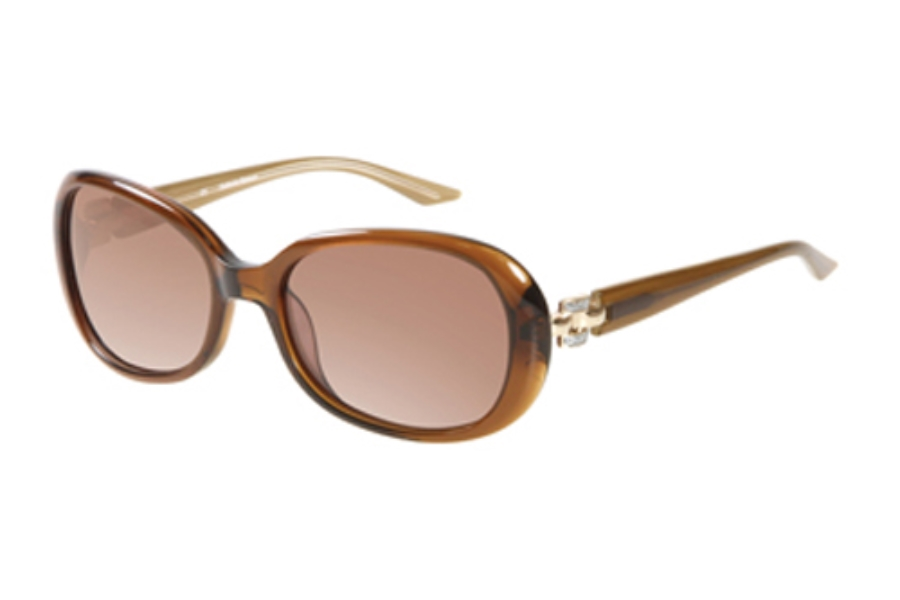 Catherine Deneuve CD-610 Sunglasses in BRN-1 Brown