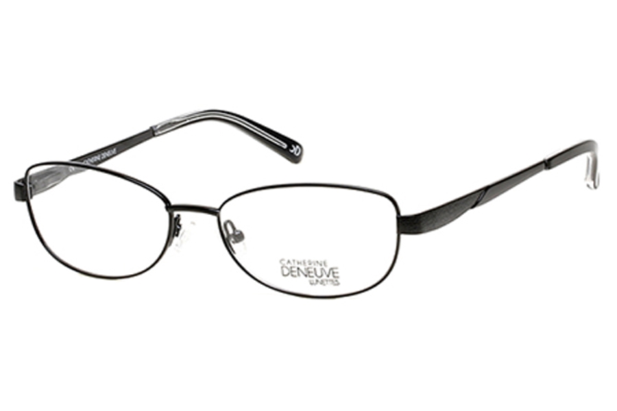 Catherine Deneuve CD-397 Eyeglasses in 001 Shiny Black