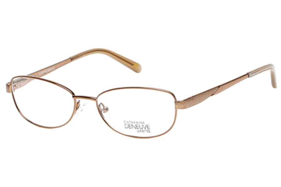 Catherine Deneuve CD-397 Eyeglasses in 045 Shiny Light Brown