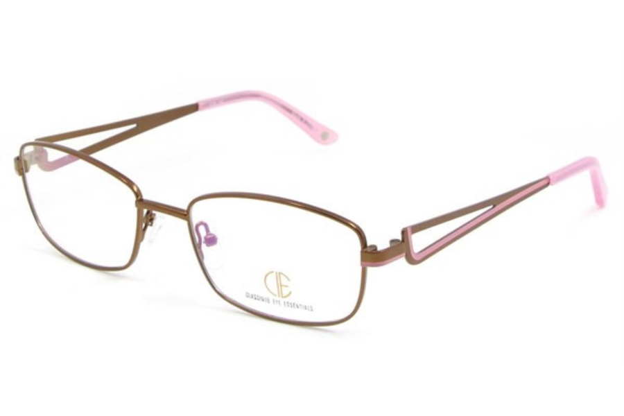 CIE SEC121 Eyeglasses in 02 Brown/Pink