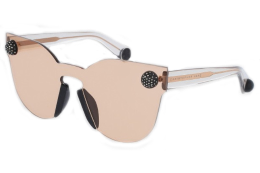 Christopher Kane CK0007S Sunglasses in 002 Pink/Pink Lens