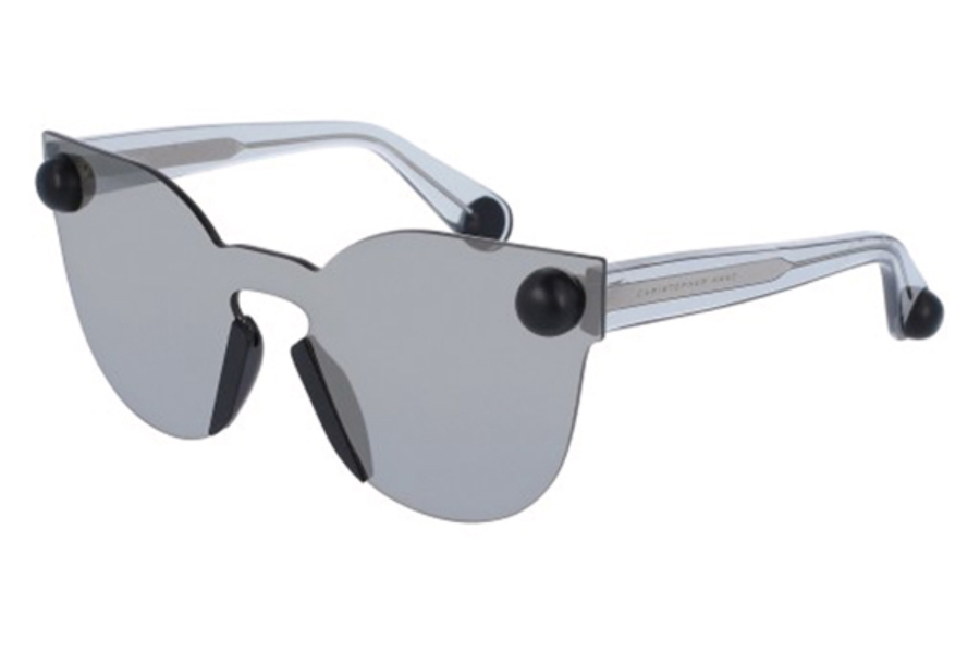Christopher Kane CK0007S Sunglasses in 003 Grey/Grey Lens
