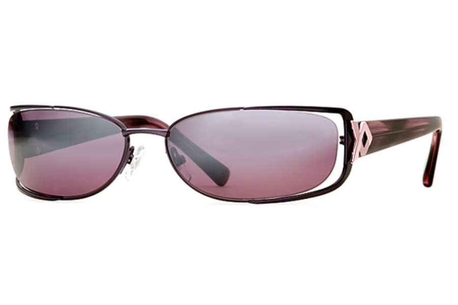 Carmen Marc Valvo Lena Sunglasses in Fig