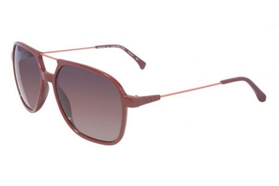 aa3c84a3d21 Calvin Klein Jeans CKJ401S Sunglasses in 600 Red ...