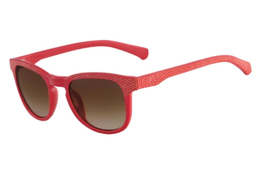 b5820bdbafc Calvin Klein Jeans CKJ719S Sunglasses in 600 RED ...