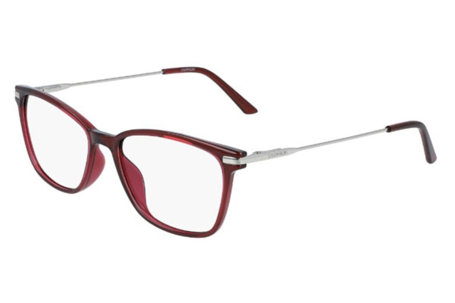 Calvin Klein CK20705 Eyeglasses in 653 Crystal Deep Berry