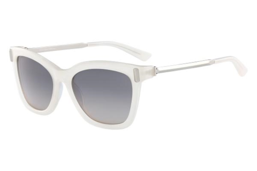 Calvin Klein CK8539S Sunglasses in 101 Milky Bone