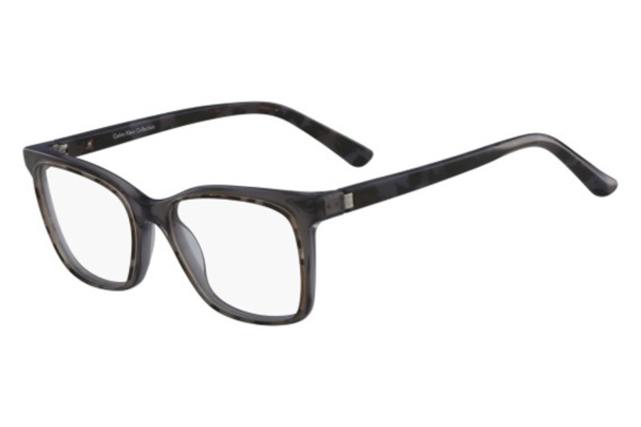 Calvin Klein CK8580 Eyeglasses in 028 Charcoal Tortoise/Crystal Grey