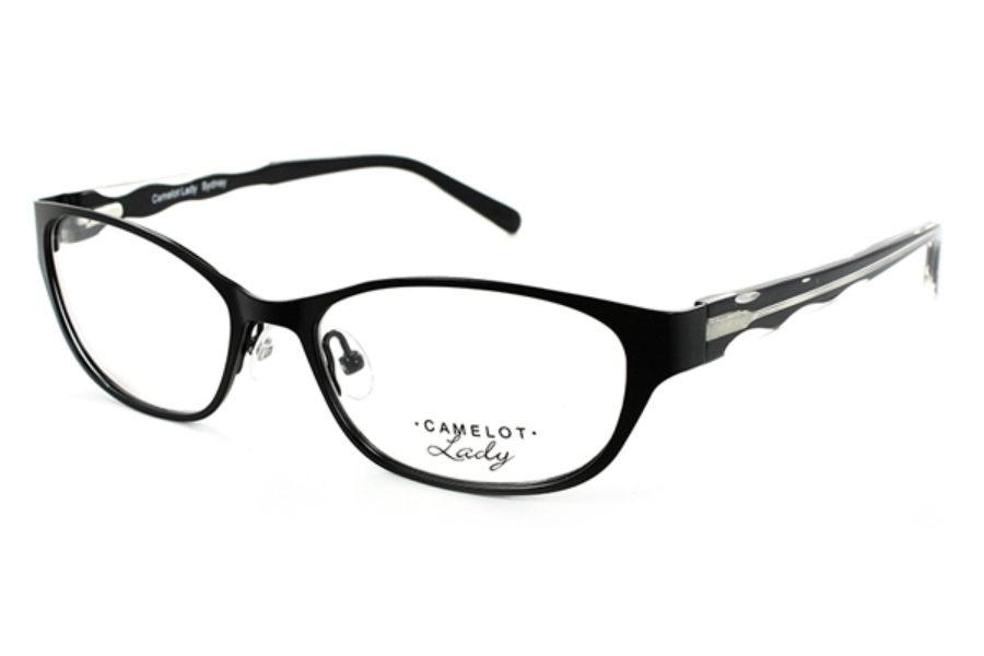 Camelot Sydney Eyeglasses in Black (Discontinued)