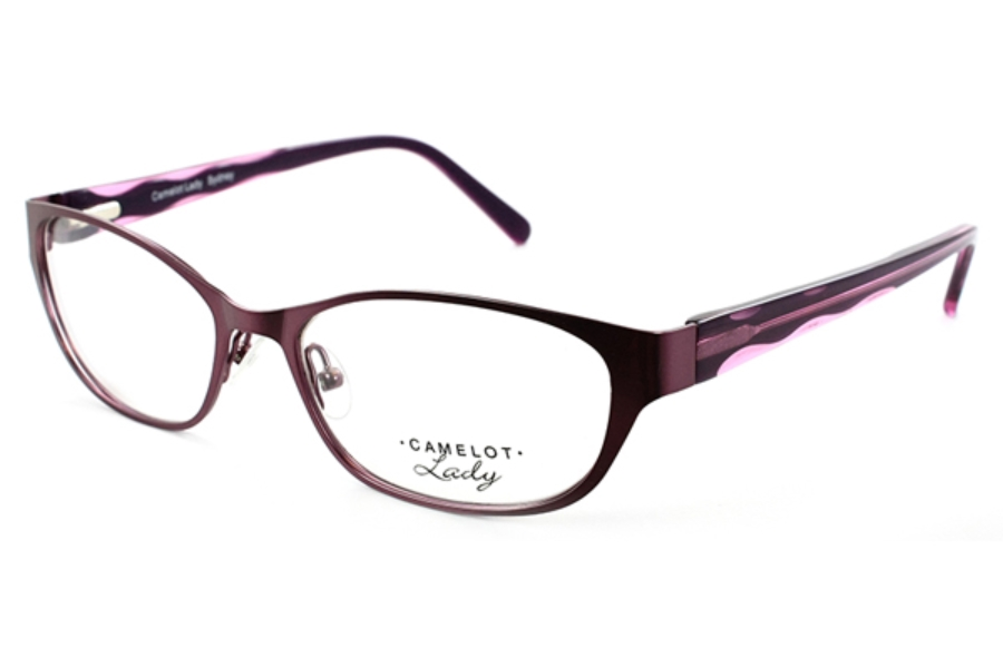 Camelot Sydney Eyeglasses in Purple