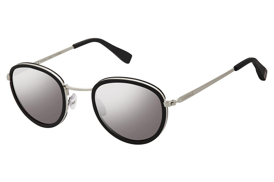 Canali 210 Sunglasses in C02 Black
