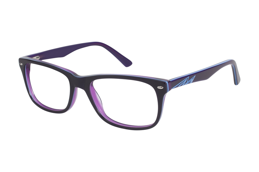 Cantera Center Eyeglasses in Purple