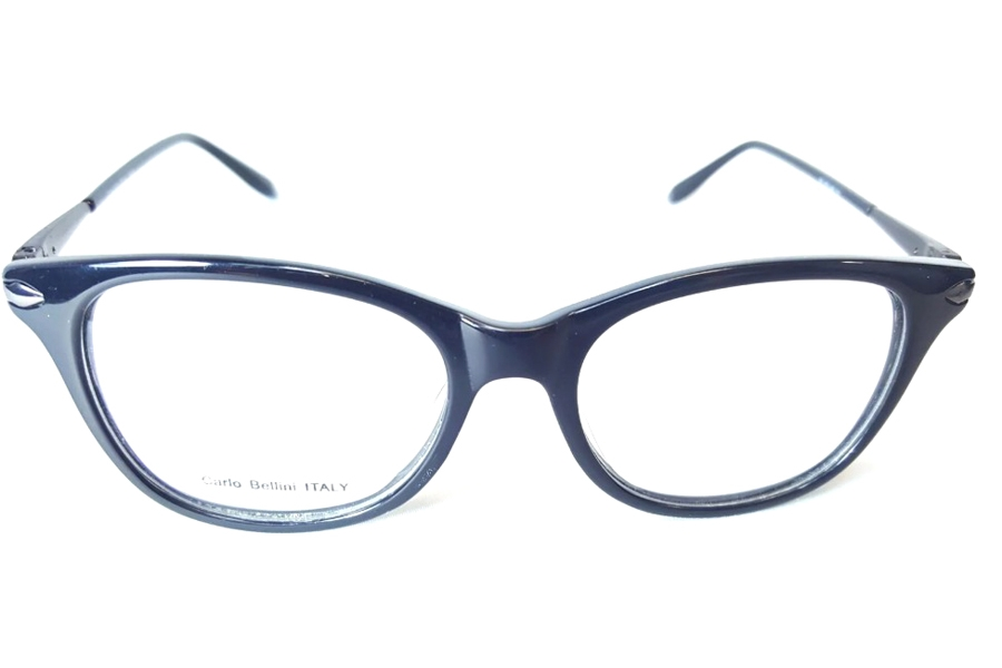 Carlo Bellini CB 7539 Eyeglasses in C1 Shiny Black
