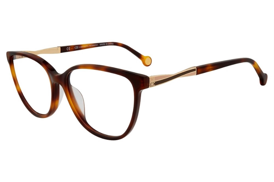 Carolina Herrera VHE 780K Eyeglasses in 0752 Tortoise