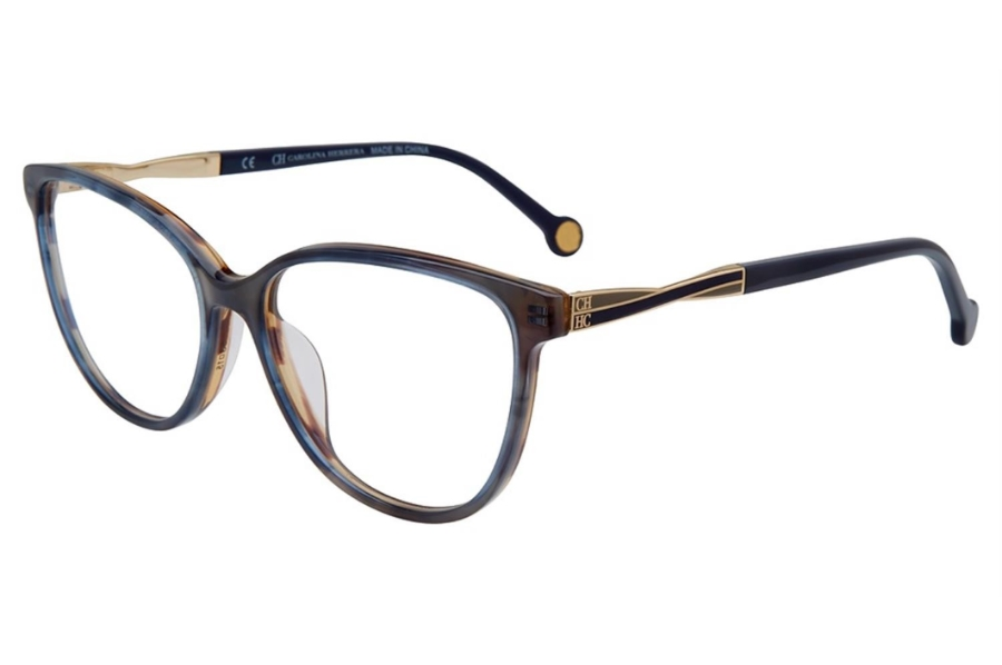 Carolina Herrera VHE 780K Eyeglasses in 0ACE Blue