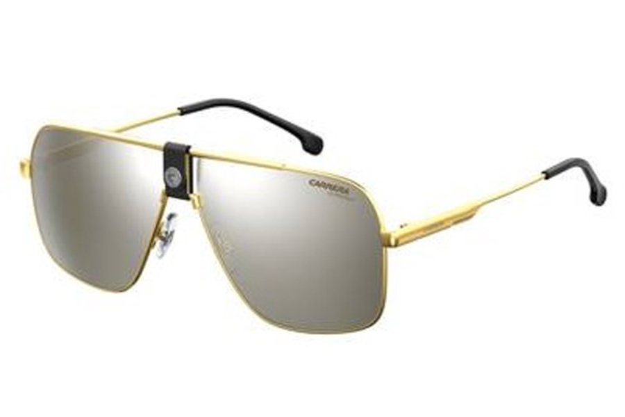 Carrera 1018//S RHL T4 Gold Metal Navigator Sunglasses Silver Mirror Lens