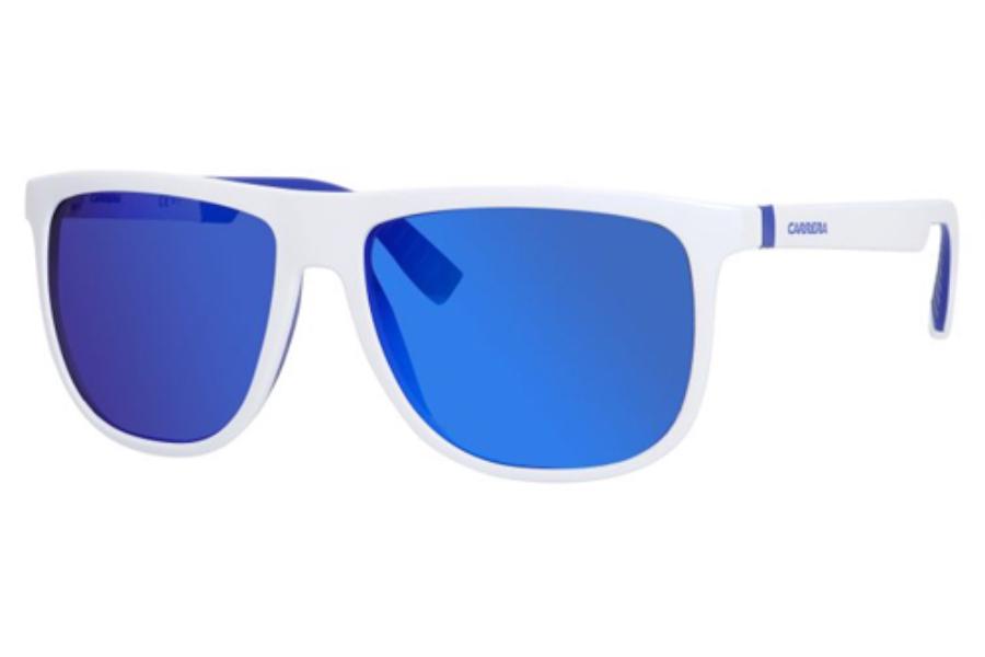 e3c60ce7bfa2 ... Carrera CARRERA 5003 SP S Sunglasses in 026L White Blue (Z0 ml blue ...