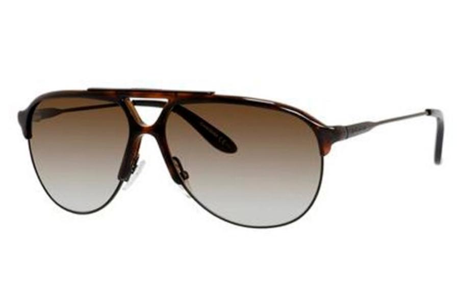 5e871facd55a Carrera CARRERA 83/S Sunglasses in 00SC Semi Matte Black (IF brown gradient  azure ...