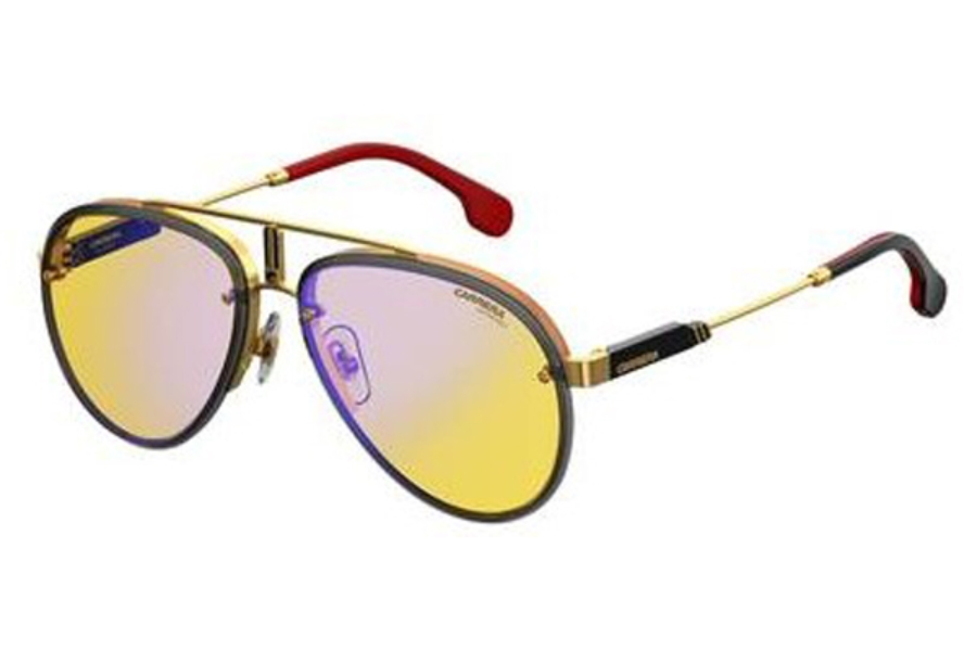 24ce389811 ... Carrera CARRERA GLORY Sunglasses in 0DYG Gold Yellow (HW   lens) ...