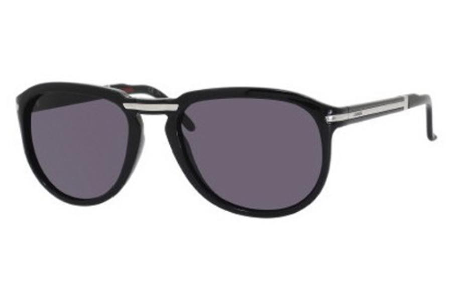 a716e4c701 Carrera POCKET FLAG 3 S Sunglasses in 0D28 Shiny Black (Y1 gray lens) ...