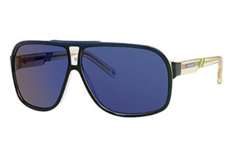 e94e665d74 Carrera GRAND PRIX 2 W C S Sunglasses in 0CSU Green Crystal ...
