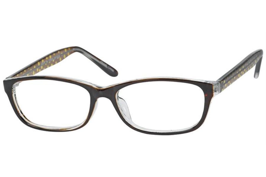 Casino Jolie Eyeglasses in Brown