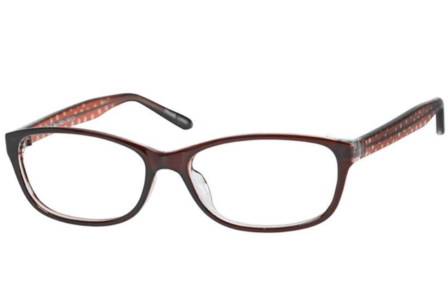 Casino Jolie Eyeglasses in Burgundy