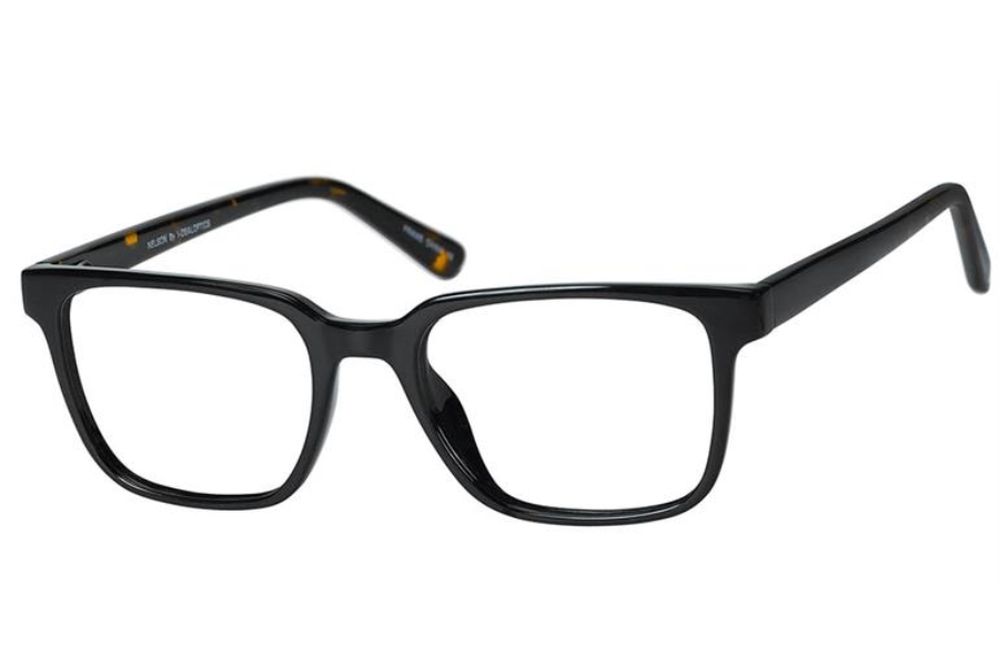 Casino Nelson Eyeglasses in Ebony