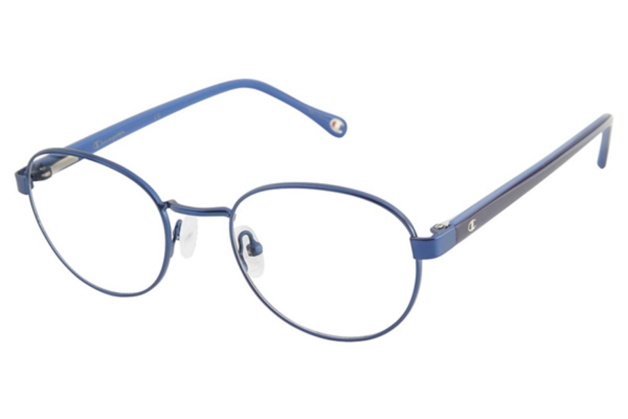Champion 1021 Eyeglasses in C03 Navy-Gunmetal