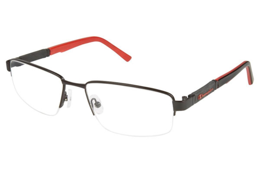 Champion 2020 Eyeglasses in C02 BLACK-RED