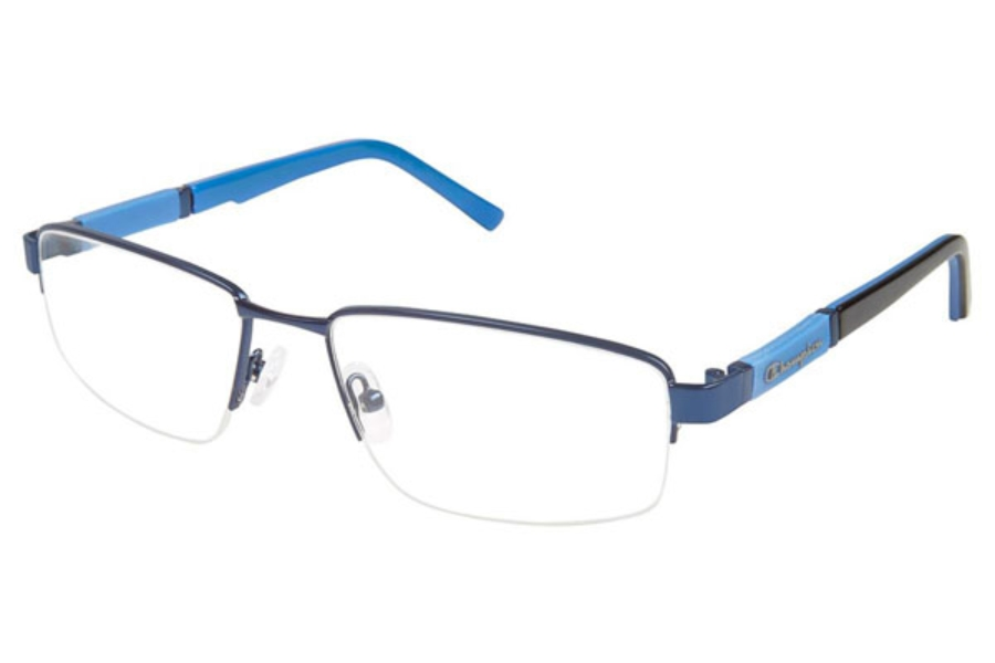 Champion 2020 Eyeglasses in C03 BLUE-BLACK
