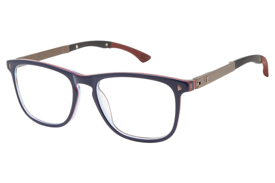 Champion 3Shakes Eyeglasses in C03 Navy/Red