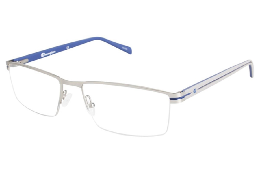 Champion 4007 Eyeglasses in C02 Matte Silver